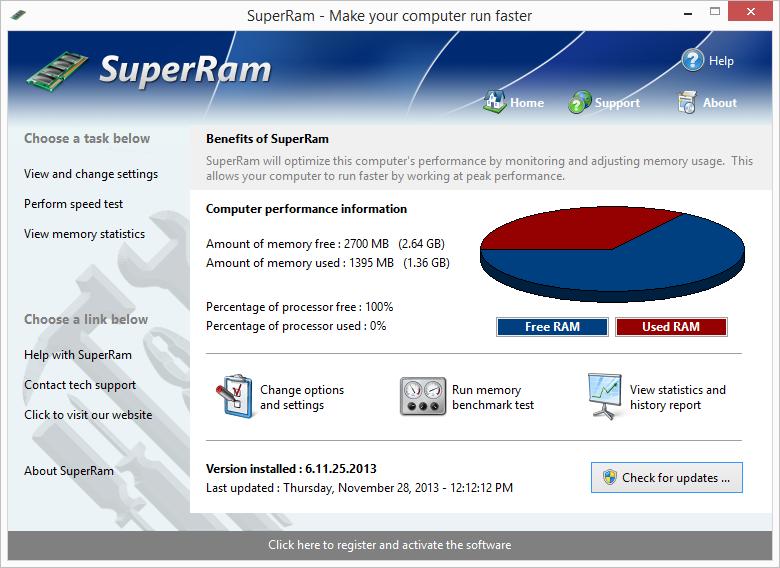 SuperRam 7 – 内存管理软件丨反斗限免
