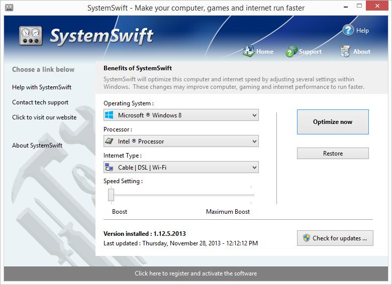 SystemSwift 2 – 系统加速软件[Windows][$14.99→0]丨反斗限免